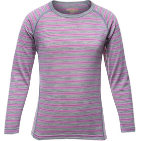 Devold Kids Breeze Shirt Peonystripes
